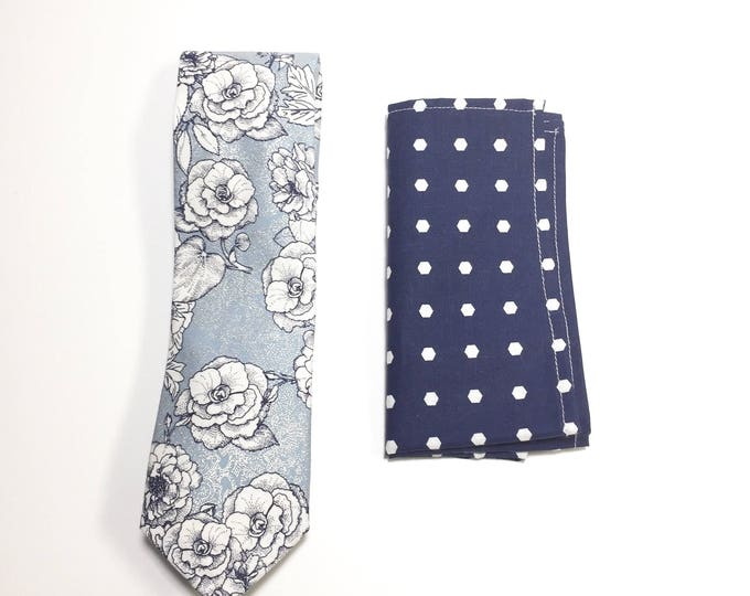 "The ""I Believe In Blues"" Tie and Square Pack"