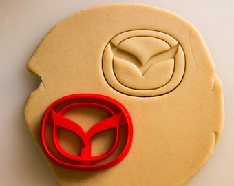 Mazda Emblem Badge Logo Cookie Cutter