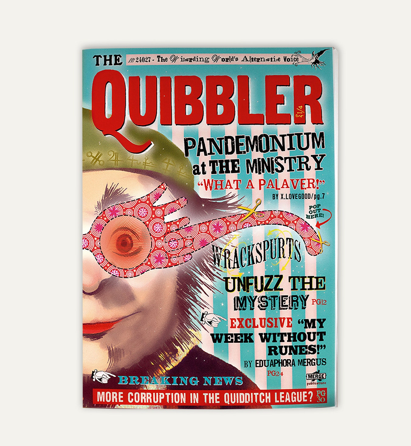 Quibbler Cover Quibbler magazine Two ...