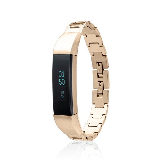 Bracelet SOSO - for Fitbit Alta - Alta HR - Jewelry - 18K Gold plated -  Stainless Steel