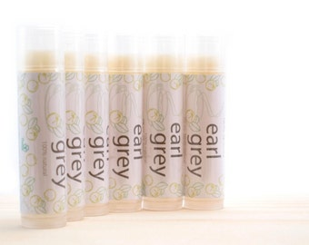 Earl Grey All Natural Lip Balm