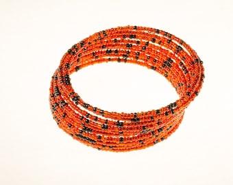 Red Twirl Bracelet