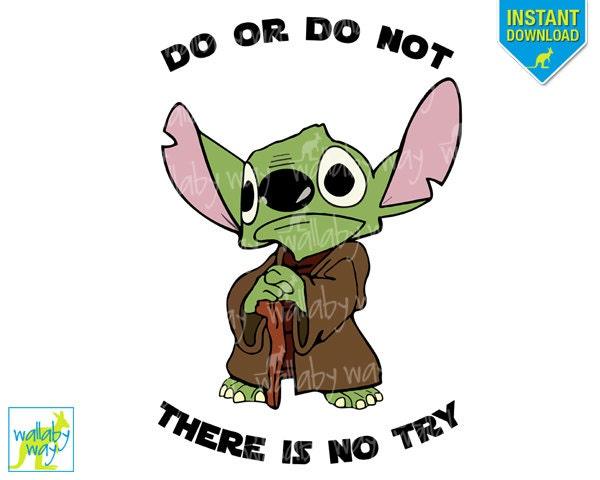 yoda star wars printable disney iron on transfer or use as rh etsy com yoda clip art free yoda clip art free