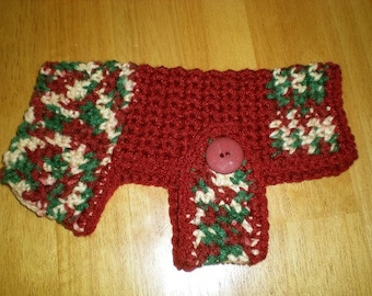 Dog sweater, Sweaters, Dogs, Pets, Dog clothing, crochet