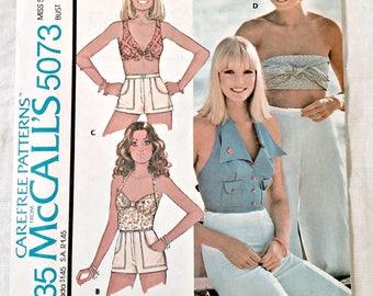 Vintage Pattern   Misses Set of Tops Size 14
