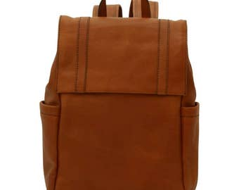 Leather Backpack/Laptop Backpack/13 Inch Laptop Bag/Italian Leather/Handmade Bag/Made In Italy - SKU: 308G
