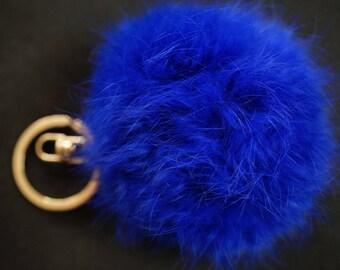 Bbleu 6 cm fur Pom Pom