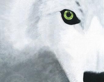 Wolf Eye - Original Artwork Fine Art Print