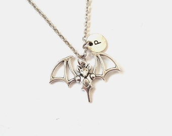 mothers giftswith dp unisex and apotie charms bat pendant sterling for amazon necklace girls unique women ghost silver damon com