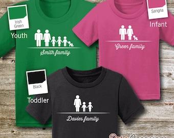 Family Name, Family Shirts, Family Tshirts, Family Tees, Family Name shirts, Family T-shirts, Family T Shirts, Family, Vacation Shirts