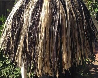 Tahitian And Rarotongan/Cook Island TANE/BOYS Or GIRLS Custom-Made Chest Or Neck Piece Costume...Hau Bark.