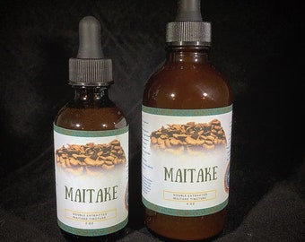 Maitake Double Extracted Tincture