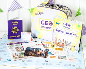 Subscription Gift for Kids aged 4-10.  Cool Subscription Boxes.  Monthly Gifts for Children.  Kids Subscriptions.