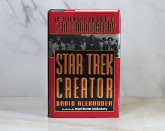 Vintage Star Trek, Star Trek Creator, Biography,  Gene Roddenbery, 1994, Hardback, Majel Barrett, Roddenberry,