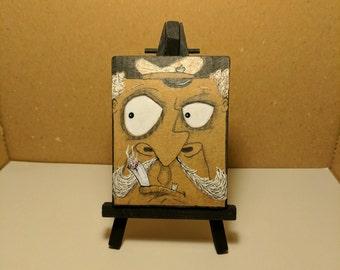 Cardboard Art - Mini Kreeps - Captain Mustard