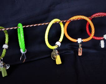 Magnetic clipped bracelets with charms