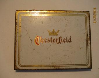 Chesterfield Cigarette Tin