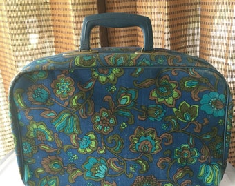 Travel bag  floral Suitcase