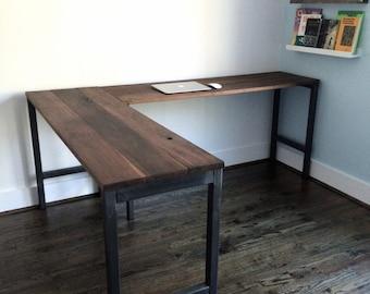 L Shaped Desk | Etsy Ideas