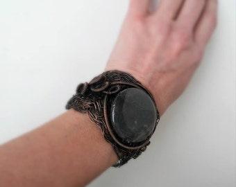 Unique copper wire bracelet Wire bracelet Copper wire bracelet Cuff bracelet Copper wire cuff Art bracelet Rustic bracelet Magic bracelet
