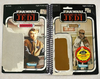 Prune Face & General Madine Recycled Vintage Star Wars ROTJ Notebook/Journal