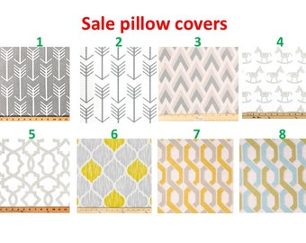 SALE  Pillow covers Pillow cases Pillows Decorative Pillows gray pillow Turquoise pillow 16X16, 14x16, 14x14, 12x16, 12x12, 10x10