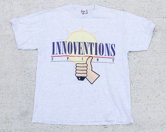 Vintage 90's Innoventions Epcot Center Disney World Tee T Shirt Size XL