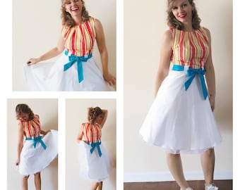 Bert Jolly Holiday Fit and Flare Dress