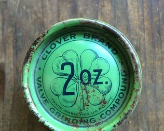 clover brand valve grinding compound patented 1909