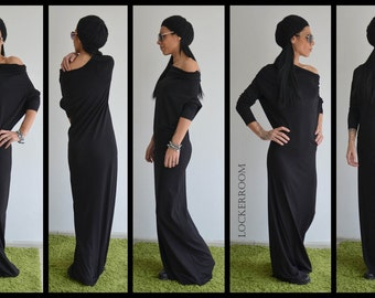 Maxi Dress, Dress Off Shoulder, Black dress, Long Sleeve Dress, Long Maxi Dress, Plus Size Dress, Kaftan Dress, Maternity Dress, Long Dress