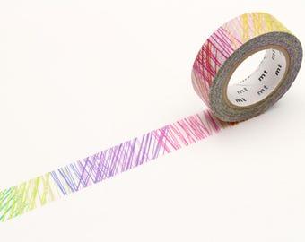 MT x Kapitza Scribble Washi Tape, MT Masking Tape