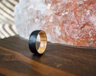 Wood Wedding Band, Titanium Band, Mens Wood Ring, wooden ring, wooden rings, wedding band, Wood rings for men, Womens Wood Ring, Wood Band