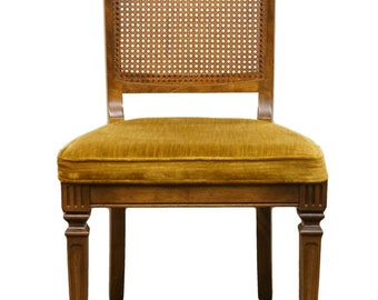 ETHAN ALLEN Classic Manor Cane Back Dining Side Chair 15-6021