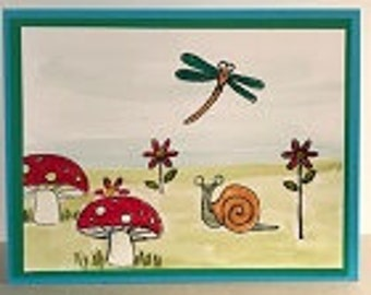 Buggy Friends Greeting Card