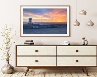 Mission Beach San Diego Photo Print | San Diego Sunset Wall Art | Nature and Landscape Photography | Home Decor | California Sunset Photo
