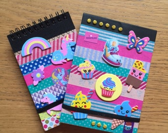 Personalised Notebook, DIY Party Craft, Party Supplies