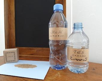 Water Bottle Label, DIY Brown Kraft Blank Labels, Eco Friendly Labels