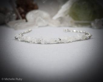 Moonstone Fertility Bracelet Moonstone Bracelet Infertility Jewelry Layering Bracelets Fertility Jewelry Stacking Bracelet Hormone Balance