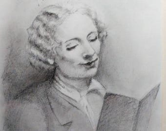Custom Graphite Pencil Drawings (Examples)