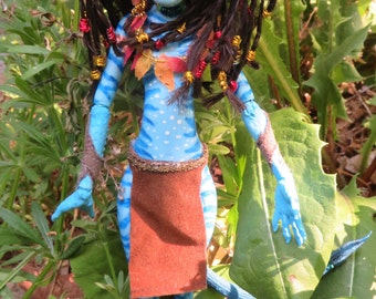 Neytiri (Avatar) OOAK art doll