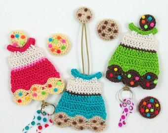 PDF Crochet Pattern Cookie Dress Key Cozy - CP-16-3347