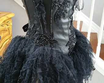 Vampire Black Fairy Cosplay Halloween Costume