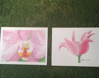 Orchid and Tulip