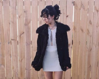 Wonder Woman Coat - Penny Lane Coat, Shearling Sheepskin Coat