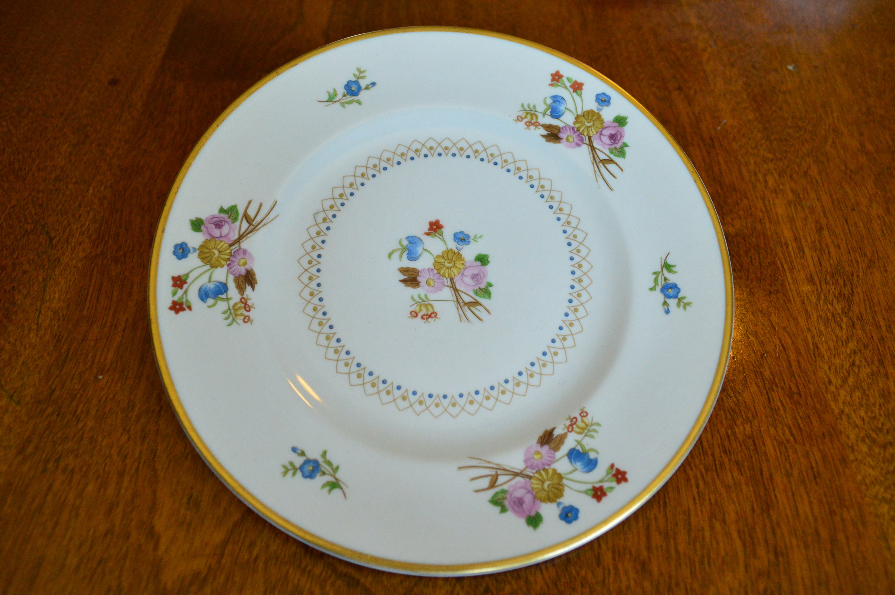 Vintage China Old Ivory Coventry Syracuse Bread and Butter