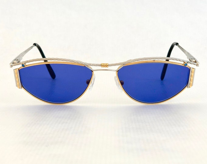 Tiffany Lunettes T/134 Vintage Sunglasses Platinum and 23K Gold Plated