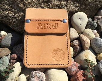 Leather pocket protector (customizable)
