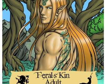 Ferals Kin Adult Coloring Book Printable Digital Download