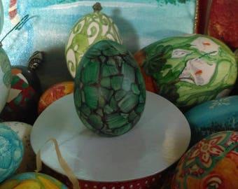 Vintage Ornaments Home Decor ImaJeanarium Bantam Egg Art
