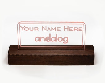 Acrylic Signs and Bases